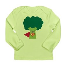 Super Broccoli Long Sleeve Infant T-Shirt