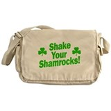 Shake Your Shamrocks Messenger Bag