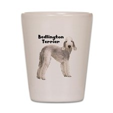 Bedlington Terrier Shot Glass