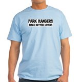 Park Rangers: Better Lovers Ash Grey T-Shirt