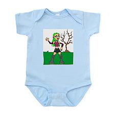 Punk Grrl Infant Creeper