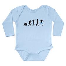 Badminton 3 Long Sleeve Infant Bodysuit