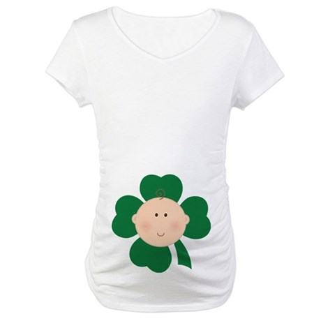 St Patrick's Baby Irish Maternity T-Shirt
