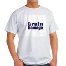 Drain Bamage Ash Grey T-Shirt