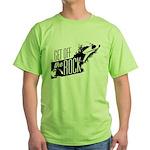 Get Off The Rock Green T-Shirt
