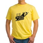 Get Off The Rock Yellow T-Shirt