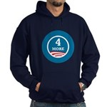 4 More Obama Hoodie (dark)