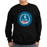 4 More Obama Sweatshirt (dark)