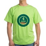 4 More Obama Green T-Shirt