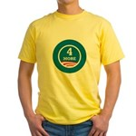 4 More Obama Yellow T-Shirt