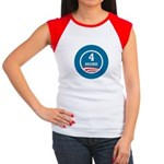 4 More Obama Women's Cap Sleeve T-Shirt