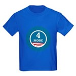 4 More Obama Kids Dark T-Shirt