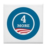 4 More Obama Tile Coaster