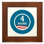 4 More Obama Framed Tile