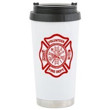 VOLUNTEER FIRE Ceramic Travel Mug