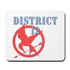 District 12 Hunger Games Mousepad