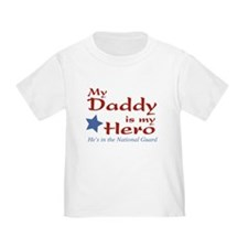 Cute My daddy is is my hero T