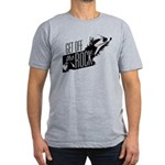 Get Off The Rock Men's Fitted T-Shirt (dark)