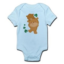 Irish Bears Shamrock Infant Bodysuit