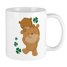 Irish Bears Shamrock Mug
