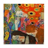 Klimt - Hope II Tile Coaster