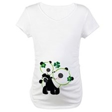 Irish Panda Mom and Baby Shirt