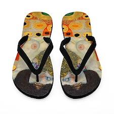 Klimt - Hope II v2 Flip Flops