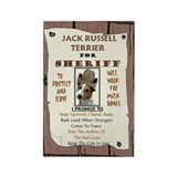 Unique Jack russell terrier Rectangle Magnet
