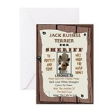 Unique Russell terrier Greeting Cards (Pk of 10)