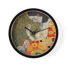 Klimt - Hope II v2 Wall Clock