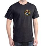 NOAA Commissioned Corps<BR>Black T-Shirt 2