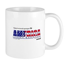 Don't Apologize for U.S. Small Mug