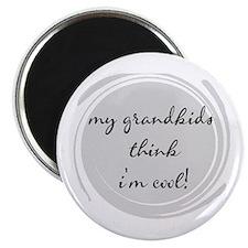 My Grandkids think I'm Cool Magnet