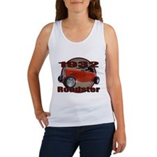 1932 Red Ford Roadster Women's Tank Top