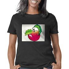 Haiti Women's Plus Size V-Neck Dark T-Shirt
