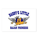 Daddy's Little Bajan Princess Postcards (Package o