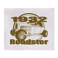 Classic 1932 Ford Roadster Throw Blanket