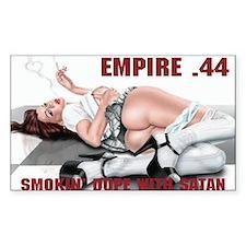 SMOKIN' DOPE WITH SATAN E44 Decal
