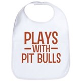 PLAYS Pit Bulls Bib