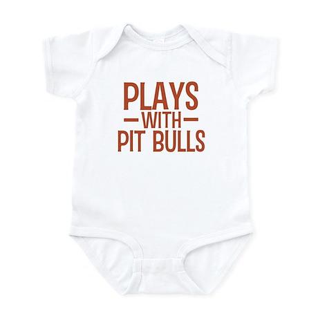 PLAYS Pit Bulls Infant Bodysuit