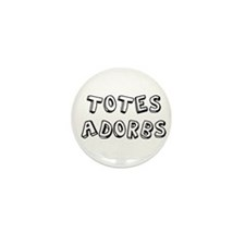 Totes Adorbs Mini Button (10 pack)