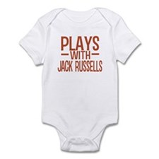 PLAYS Jack Russells Infant Bodysuit