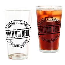 Qualicum Beach Title Drinking Glass
