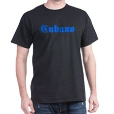 Cubano Black T-Shirt