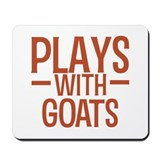 PLAYS Goats Mousepad