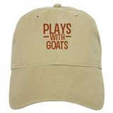 PLAYS Goats Baseball Cap