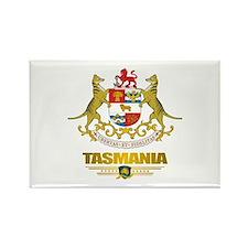 """""""Tasmania COA"""" Rectangle Magnet"""