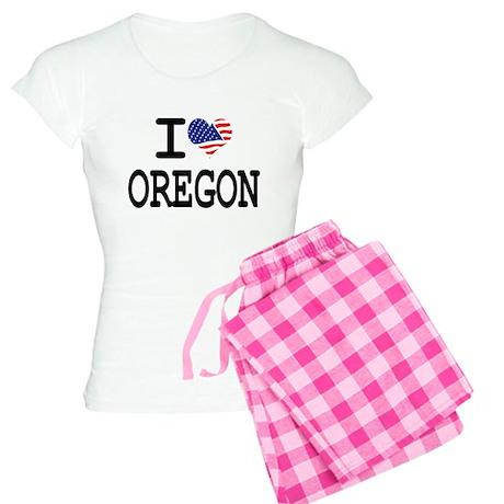 I LOVE OREGON Women's Light Pajamas