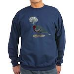 Victoria Crowned Pigeon Sweatshirt (dark)