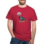 Victoria Crowned Pigeon Dark T-Shirt